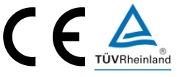 CE und TUV Rheinland