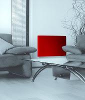 Infrarot Glasheizkörper im Wohnraum